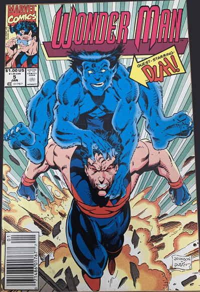Cover for Wonder Man (Marvel, 1991 series) #5 [Direct Edition]