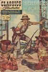 Cover for Classics Illustrated (Gilberton, 1947 series) #119 [HRN 169] - Soldiers of Fortune [25¢]