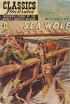 Cover for Classics Illustrated (Gilberton, 1947 series) #85 [HRN 169] - Sea Wolf [25¢]