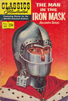 Cover for Classics Illustrated (Gilberton, 1947 series) #54 [HRN 166] - The Man in the Iron Mask [25¢]