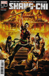 Cover Thumbnail for Shang-Chi (Marvel, 2020 series) #5