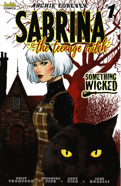 Cover for Sabrina the Teenage Witch (Archie, 2020 series) #1 [Cover A Veronica Fish]