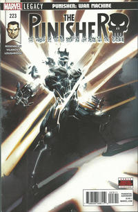 Cover Thumbnail for The Punisher (Marvel, 2016 series) #223