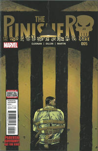 Cover Thumbnail for The Punisher (Marvel, 2016 series) #5