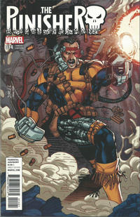 Cover Thumbnail for The Punisher (Marvel, 2016 series) #14 [X-Men Trading Card Variant]