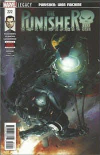 Cover Thumbnail for The Punisher (Marvel, 2016 series) #222