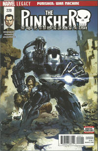 Cover Thumbnail for The Punisher (Marvel, 2016 series) #220