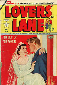 Cover Thumbnail for Lovers' Lane (Lev Gleason, 1949 series) #6 [1949 indicia]