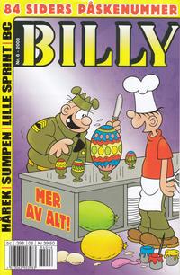 Cover Thumbnail for Billy (Hjemmet / Egmont, 1998 series) #6/2008