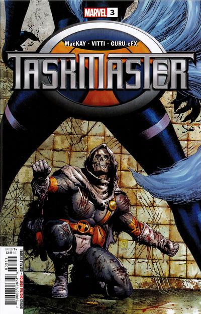 Cover for Taskmaster (Marvel, 2021 series) #3