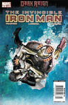 Cover for Invincible Iron Man (Marvel, 2008 series) #12 [Newsstand]