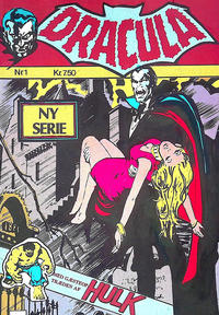 Cover Thumbnail for Dracula (Winthers Forlag, 1982 series) #1