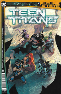 Cover Thumbnail for Future State: Teen Titans (DC, 2021 series) #2