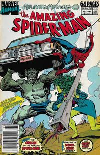 Cover Thumbnail for The Amazing Spider-Man Annual (Marvel, 1964 series) #23 [Newsstand]