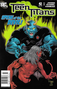 Cover Thumbnail for Teen Titans (DC, 2003 series) #42 [Newsstand]