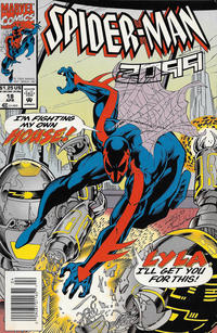 Cover Thumbnail for Spider-Man 2099 (Marvel, 1992 series) #18 [Newsstand]