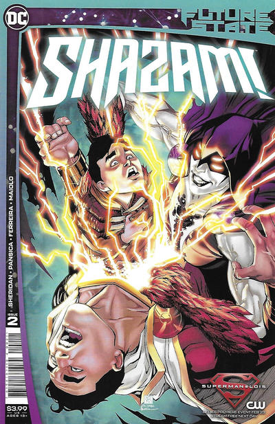 Cover for Future State: Shazam! (DC, 2021 series) #2 [Bernard Chang Cover]