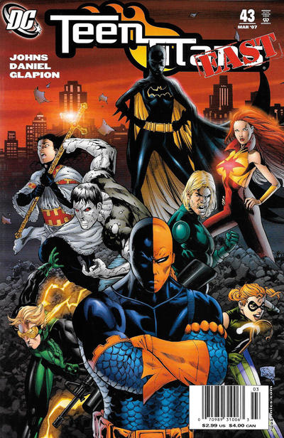 Cover for Teen Titans (DC, 2003 series) #43 [Direct Sales]