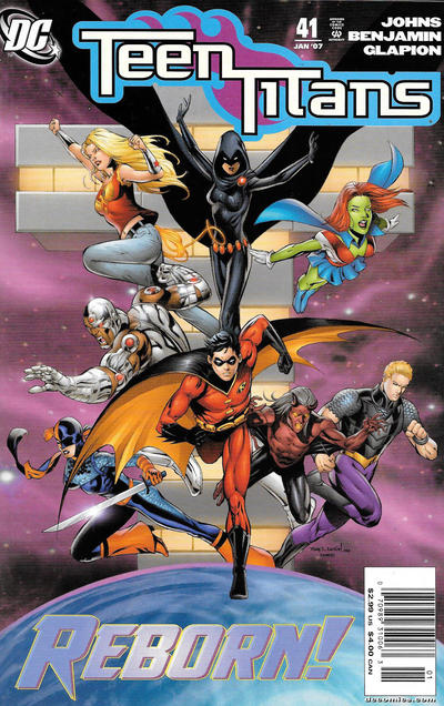 Cover for Teen Titans (DC, 2003 series) #41 [Direct Sales]