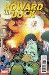 Cover for Howard the Duck (Marvel, 2016 series) #6 [Variant Edition - Tradd Moore Connecting Cover B]
