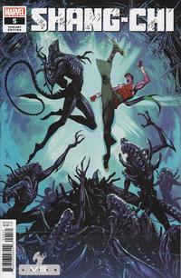 Cover Thumbnail for Shang-Chi (Marvel, 2020 series) #5 [Marvel vs Alien - Iban Coello Cover]