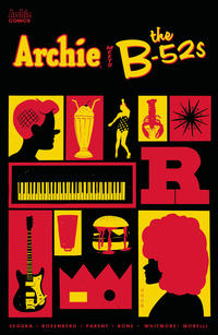 Cover Thumbnail for Archie Meets the B-52s (Archie, 2020 series)  [Cover C Tyler Boss]