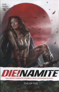 Cover for Die!namite (Dynamite Entertainment, 2020 series) #5 [Cover A Lucio Parrillo]
