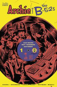 Cover Thumbnail for Archie Meets the B-52s (Archie, 2020 series)  [Cover E Francesco Francavilla]
