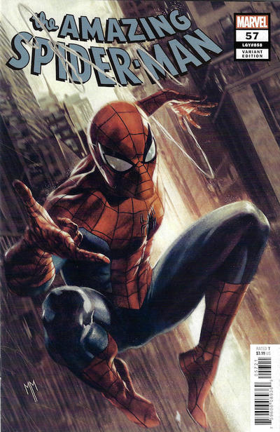 Cover for Amazing Spider-Man (Marvel, 2018 series) #57 (858) [Second Printing - Marcelo Ferreira Cover]