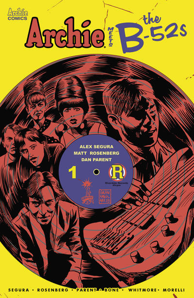 Cover for Archie Meets the B-52s (Archie, 2020 series)  [Cover A Dan Parent]