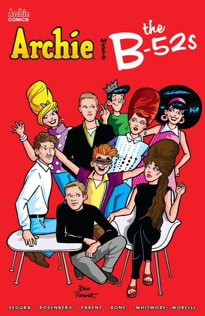 Cover for Archie Meets the B-52s (Archie, 2020 series)  [Cover B Michael and Laura Allred]