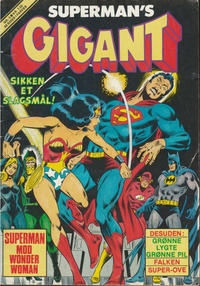 Cover Thumbnail for Supermans Gigant (Interpresse, 1979 series) #3