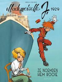 Cover Thumbnail for Mademoiselle J. (Dupuis, 2021 series) #1 - 1929 - Ze noemden hem Rooie