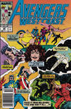Cover for Avengers West Coast (Marvel, 1989 series) #49 [Mark Jewelers]