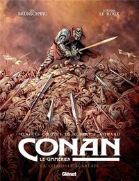 Cover Thumbnail for Conan le Cimmérien (Glénat, 2018 series) #5 - La citadelle écarlate