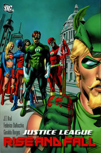 Cover Thumbnail for Justice League: Rise and Fall (DC, 2012 series)