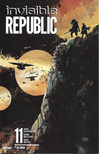 Cover for Invisible Republic (Image, 2015 series) #11
