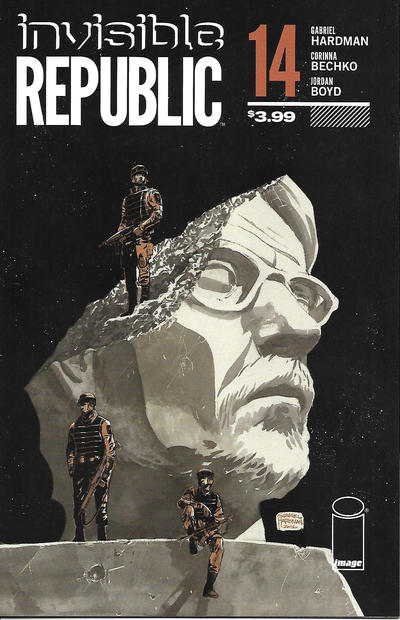 Cover for Invisible Republic (Image, 2015 series) #14