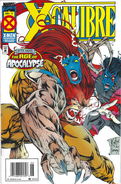 Cover for X-Calibre (Marvel, 1995 series) #4 [Direct Edition]