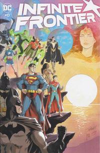 Cover Thumbnail for Infinite Frontier (DC, 2021 series) #0 [Dan Jurgens & Mikel Janín Wraparound Cover]