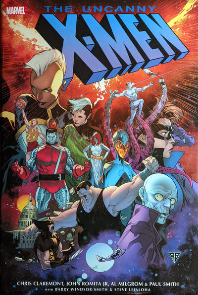 Cover for Uncanny X-Men Omnibus (Marvel, 2006 series) #4