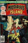Cover for Marvel Classics Comics (Marvel, 1976 series) #11 - Mysterious Island [British]