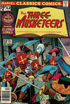 Cover for Marvel Classics Comics (Marvel, 1976 series) #12 - The Three Musketeers [British]