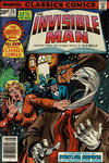 Cover for Marvel Classics Comics (Marvel, 1976 series) #25 - The Invisible Man [British]