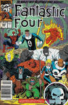 Cover Thumbnail for Fantastic Four (1961 series) #349 [Newsstand]