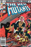Cover for The New Mutants (Marvel, 1983 series) #4 [Newsstand]