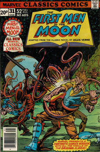 Cover Thumbnail for Marvel Classics Comics (Marvel, 1976 series) #31 - The First Men In The Moon [British]