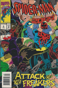 Cover Thumbnail for Spider-Man 2099 (Marvel, 1992 series) #8 [Australian]