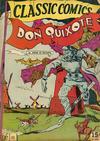 Cover for Classic Comics (Gilberton, 1941 series) #11 [HRN 21] - Don Quixote