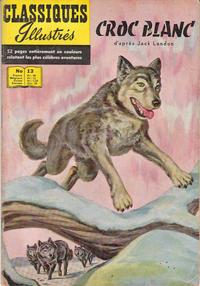 Cover Thumbnail for Classiques Illustrés (Publications Classiques Internationales, 1957 series) #13 - Croc Blanc